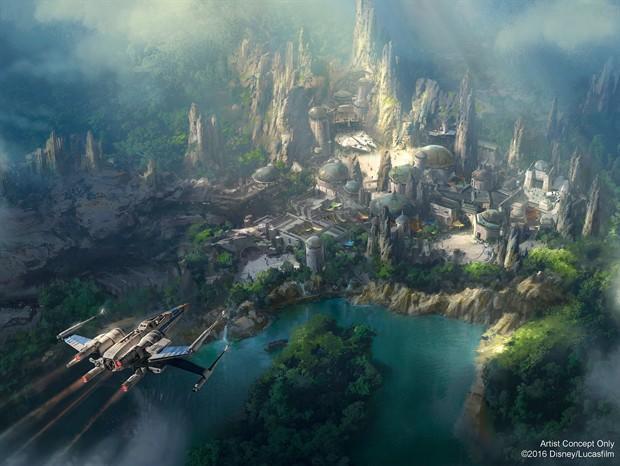 星战主题公园将会打造一座全新的星球