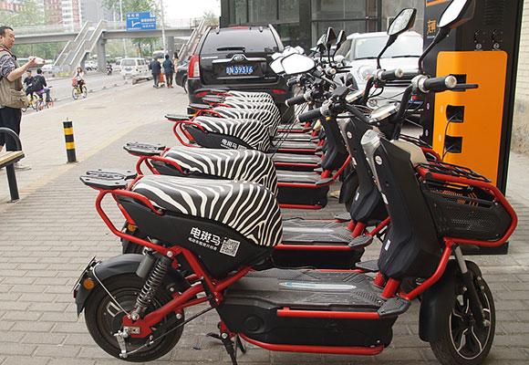 共享电动单车悄然复出 再现北京街头