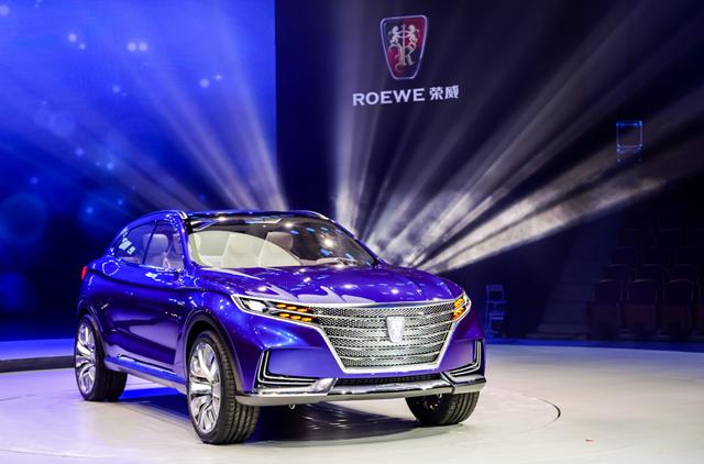 YunOS Auto纯电动SUV概念车发布 2018年将量产