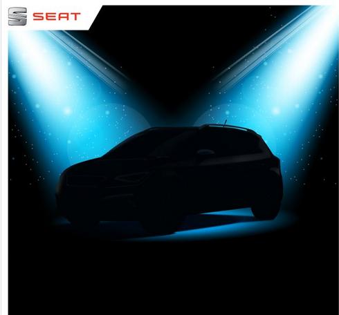 西雅特全新CUV预告图首发 将亮相法兰克福车展