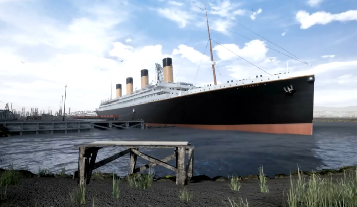 《泰坦尼克号》虚幻4游戏:画质堪比CG电影