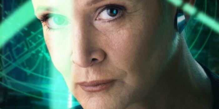 《星球大战9》无凯丽费雪镜头