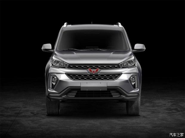 即将发力SUV市场 五菱首款SUV官图发布