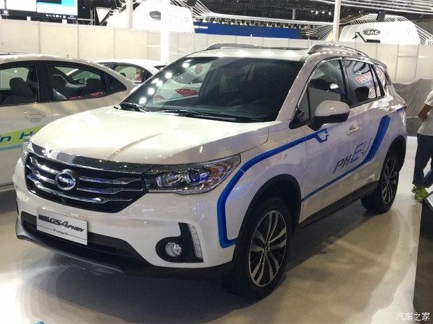 2017上海车展探馆:广汽传祺GS4 PHEV