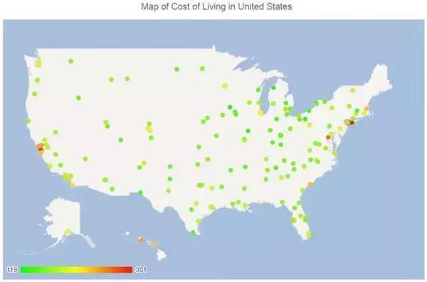 美国留学生活成本大起底 生活开销调查