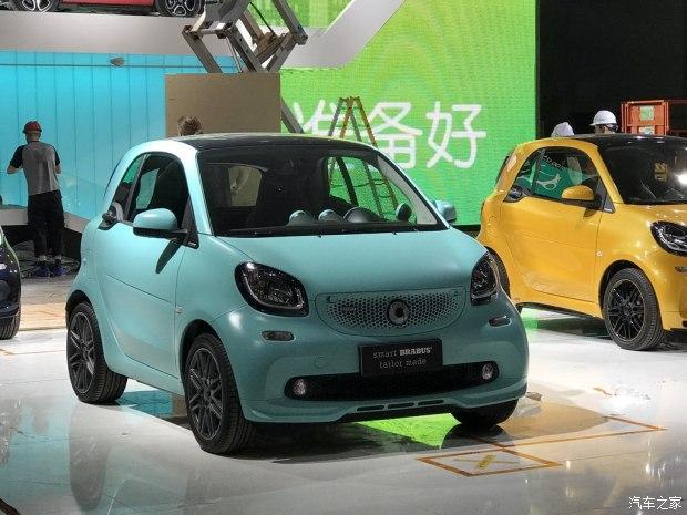 2017上海车展探馆:smart两款特别版