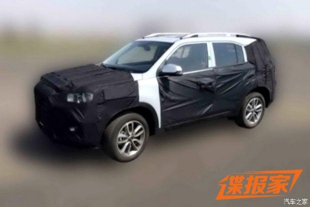 上海车展首发 北京现代全新SUV谍照曝光