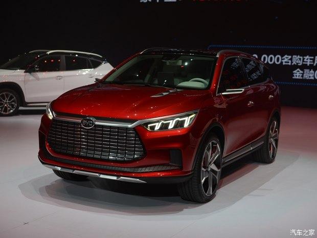 引领未来设计 比亚迪王朝概念车首发