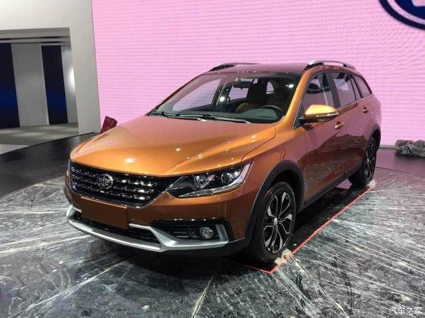 2017上海车展探馆:天津一汽骏派Wagon