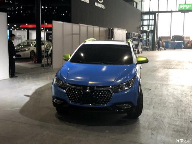 2017上海车展探馆:纳智捷全新小型SUV