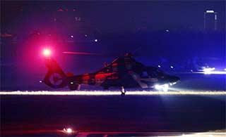大片风格:直9直升机夜间训练
