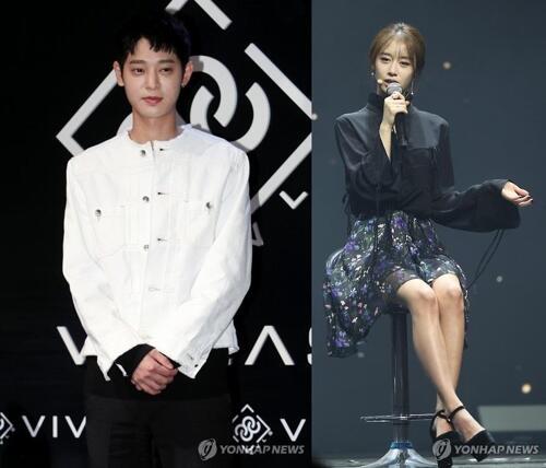 韩歌手郑俊英被曝和T-ARA智妍相恋 双方均否认