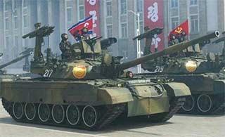 朝鲜这款坦克火力世界之最
