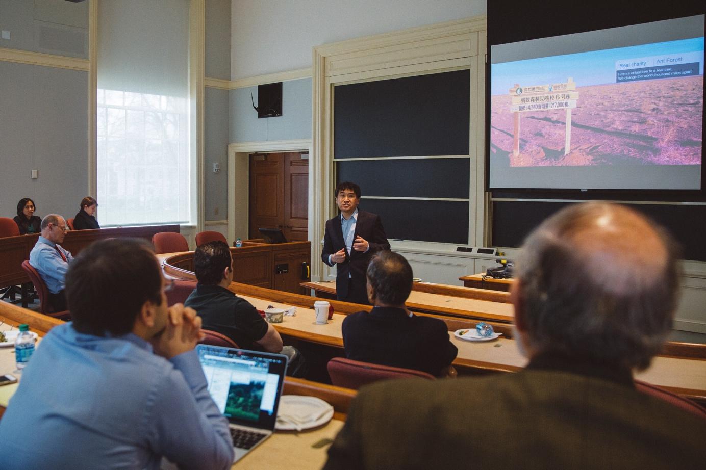 中国金融科技被西方研究 哈佛案例库收录蚂蚁金服模式