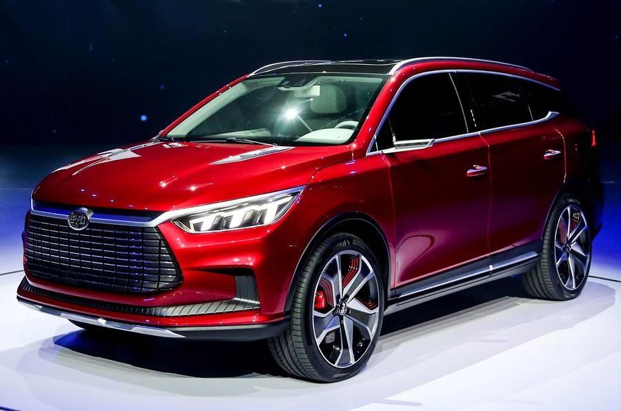 比亚迪王朝电动概念车发布 亮相上海车展