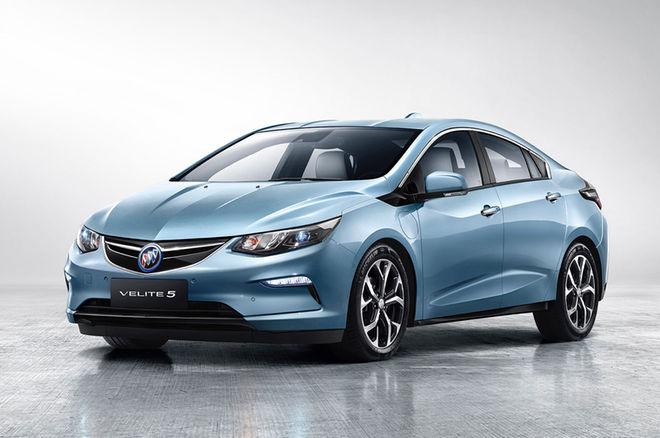 别克发布Velite5增程型混动车 将在华投产