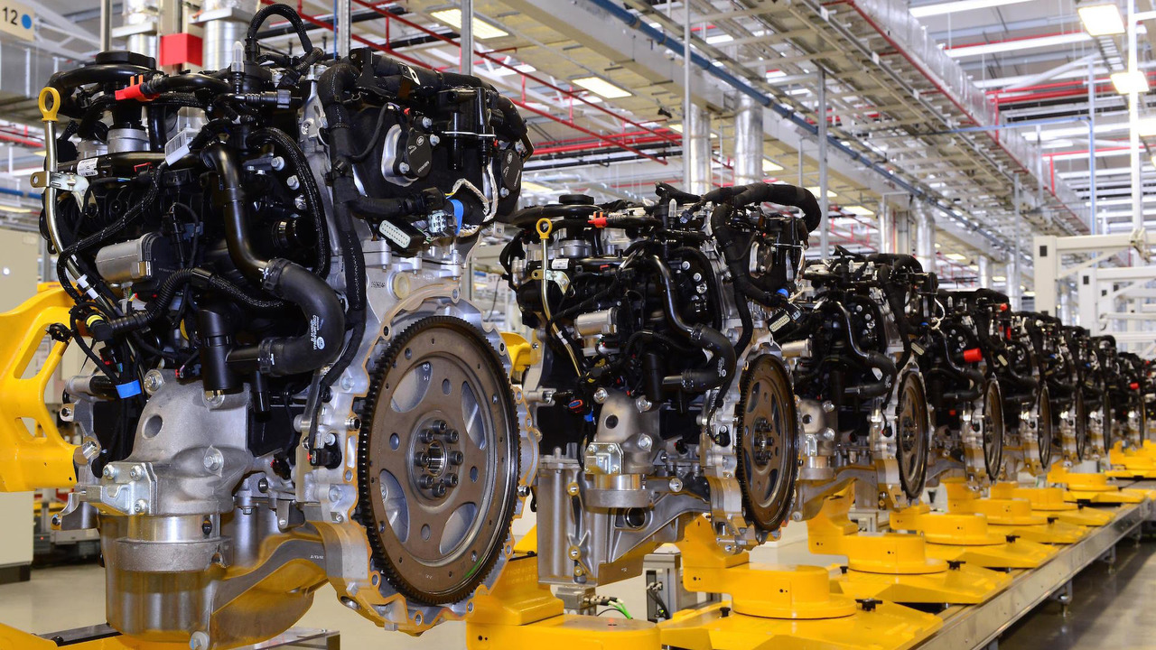 捷豹英国正式投产Ingenium四缸发动机 今夏上市