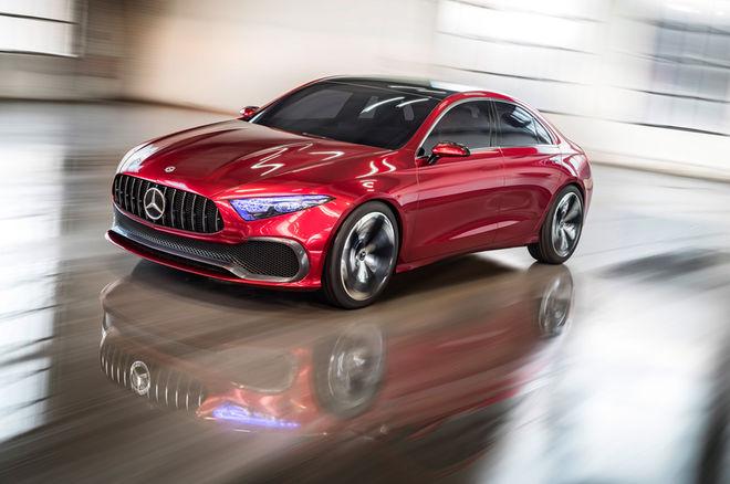 奔驰Concept A Sedan概念车发布 全新A级雏形