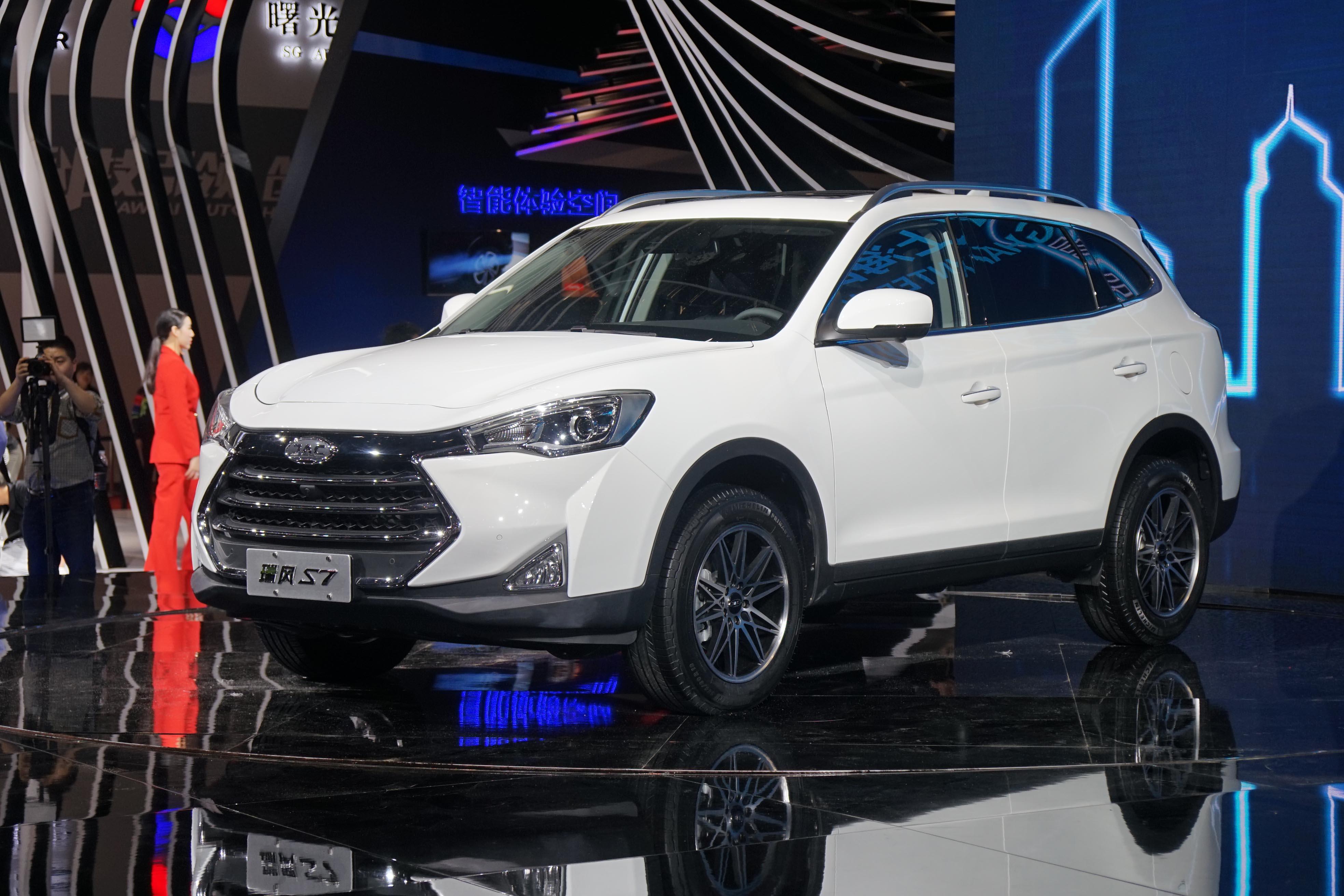 大智慧行,江淮瑞风S7刷新紧凑型SUV价值标准-国内车讯高清图片