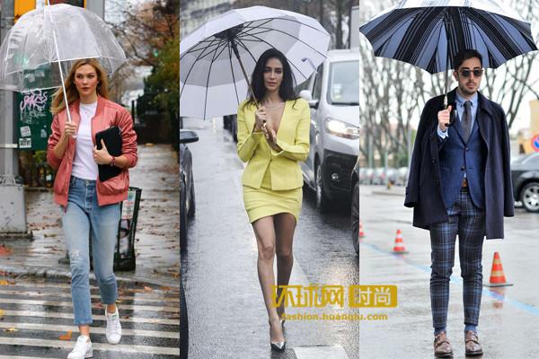 【单品】梅雨季节怎么凹造型 不要方!想装逼你就缺这一把伞