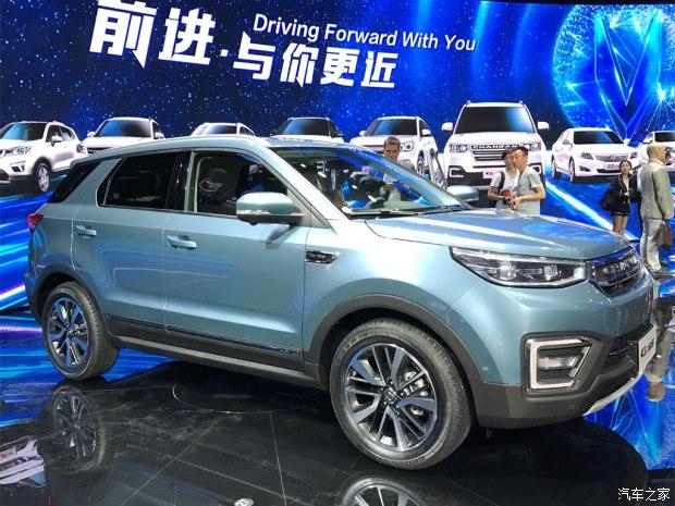 2017上海车展:长安CS55车型正式发布