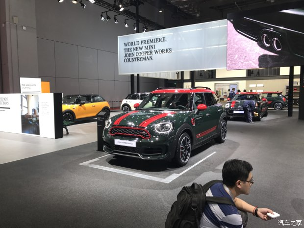 2017上海车展:新MINI JCW COUNTRYMAN