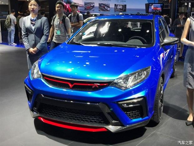 2017上海车展:长安逸动R车型正式亮相