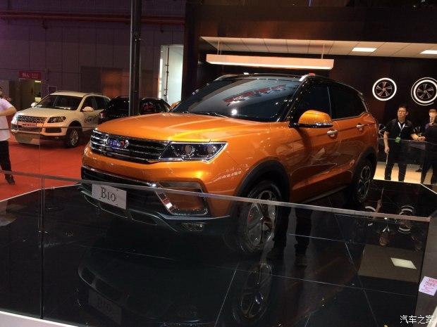 2017上海车展:野马T60模型车正式亮相