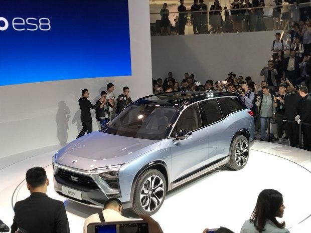 2017上海车展:蔚来ES8概念车正式亮相