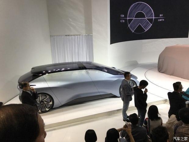 2017上海车展:蔚来EVE无人驾驶概念车