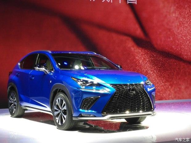 2017上海车展:雷克萨斯新款NX车展首发