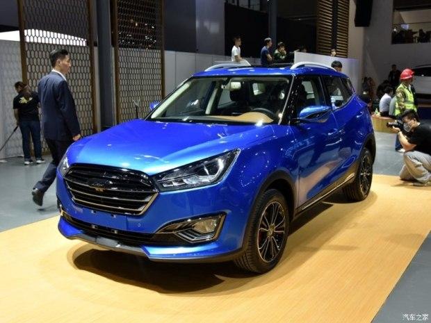 2017上海车展:众泰T300量产版亮相
