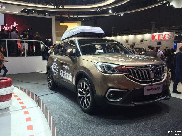 2017上海车展:新款中华V3正式亮相