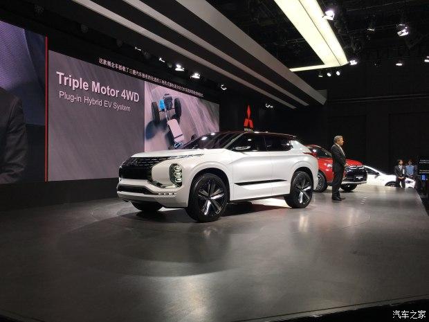 2017上海车展:三菱GT-PHEV概念车亮相