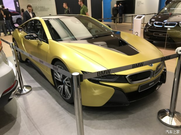 2017上海车展:宝马i8特别版国内首发