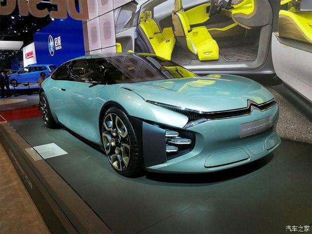 2017上海车展:雪铁龙CXPERIENCE概念车