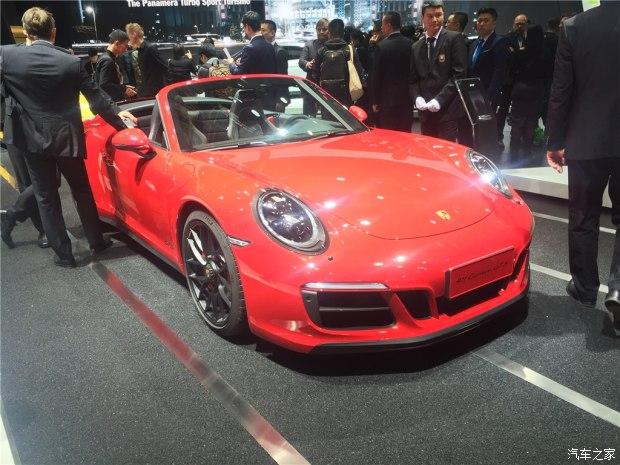 2017上海车展:保时捷新款911 GTS系列