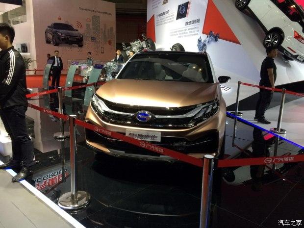 2017上海车展:广汽传祺EnSpirit概念车
