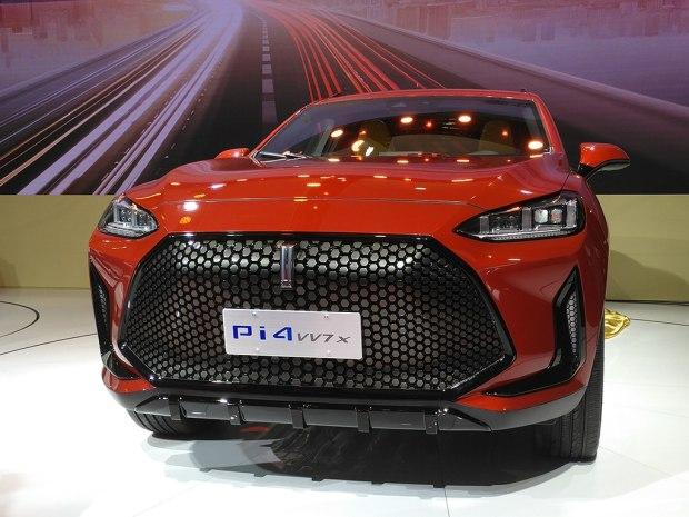 2017上海车展:WEY Pi4 VV7x概念车