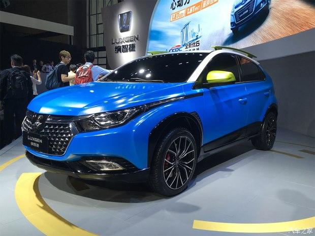 2017上海车展:纳智捷全新小型SUV首发