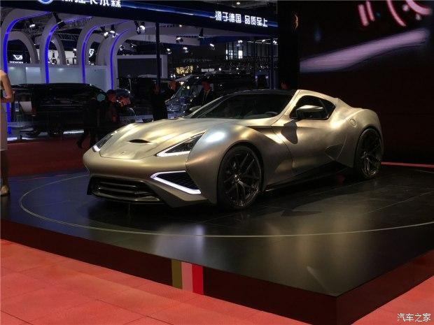 上海车展:Vulcano Titanium售6680万起