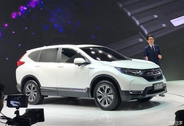 2017上海车展:国产全新CR-V锐·混动