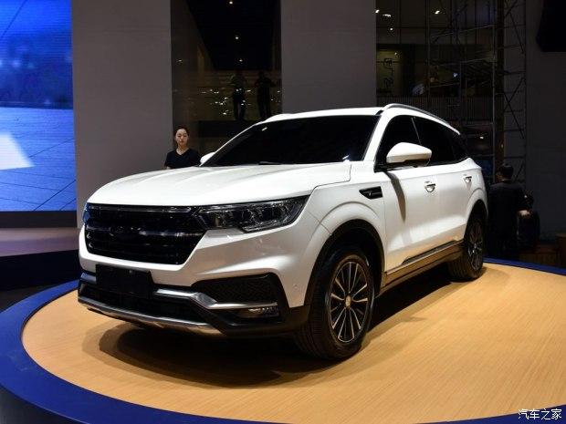 2017上海车展:全新众泰T500正式发布