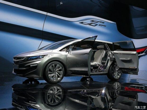 2017上海车展:吉利全新MPV概念车发布