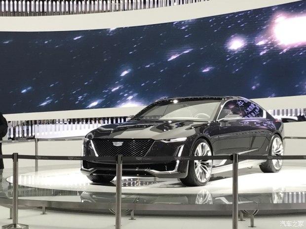 2017上海车展:凯迪拉克Escala概念车