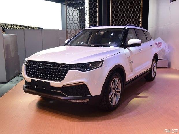 2017上海车展:全新众泰T700正式亮相
