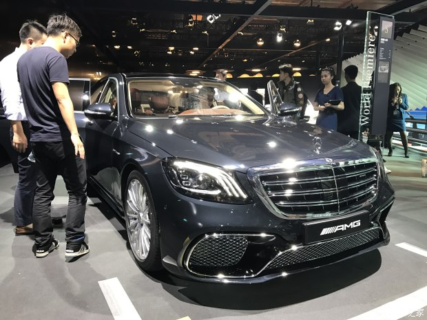 2017上海车展:奔驰AMG S 65 L正式亮相