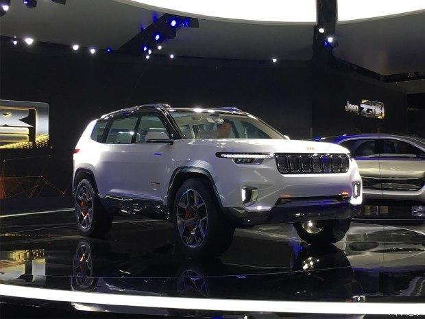 2017上海车展:Jeep云图概念车正式发布