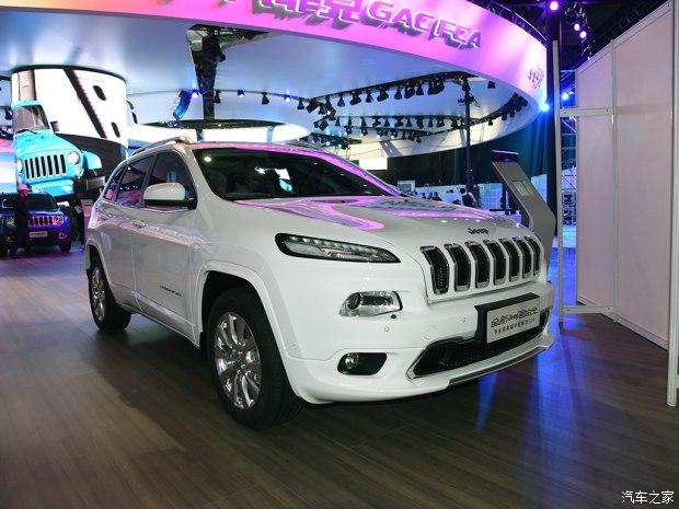 2017上海车展:新款Jeep自由光发布