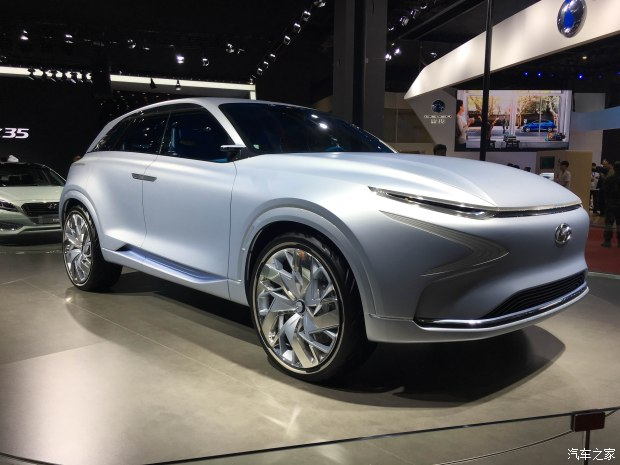 2017上海车展:现代FE Fuel Cell概念车